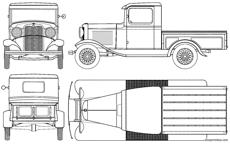 ford model b pick up 1932