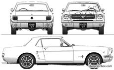 ford mustang 260 coupe 1965