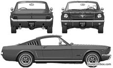 ford mustang 289 fastback 1965