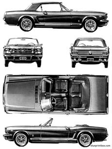 ford mustang gt convertible 1966
