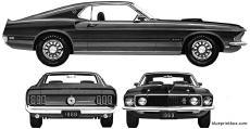 ford mustang mach i 428 1969