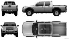 ford ranger double cab 2007