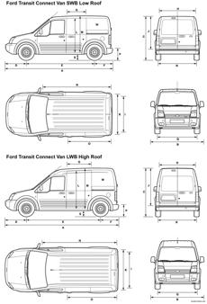 ford transit connect van 2008