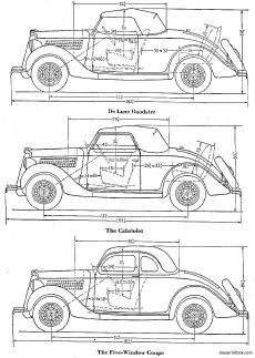the sportier 1938 fords