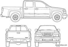 gmc canyon crew cab 2006