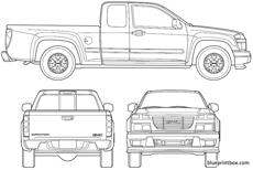 gmc canyon extended cab 2006