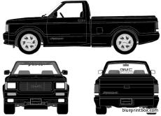 gmc syclone pick up 1991