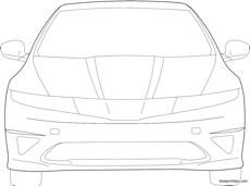 honda civic type s front