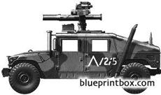 humvee m1046 tow carrier