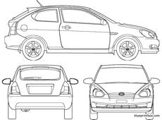 hyundai accent 3 door 2007
