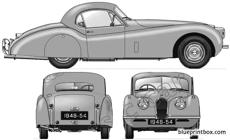 jaguar 120 fixed head coupe 1948