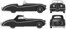 jaguar xk 120 roadster 1948