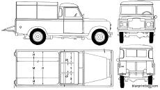 land rover 109 pick up 1973