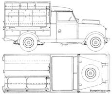 land rover 109 s2 pick up 1959