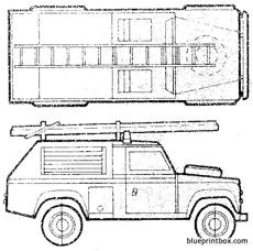 land rover 110 fire appliance mkiv