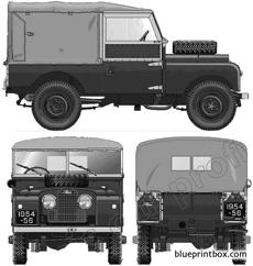 land rover 86 series 1 1954